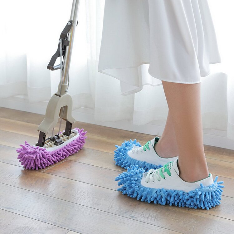 【50% OFF Last Day Promotion & On-Time Delivery】Multifunctional Mop Shoe Cover/Slippers.