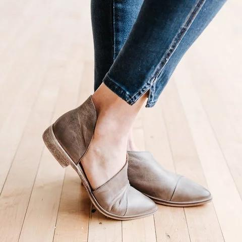 Women Pointed Toe Soft Simple Comfy Sandals