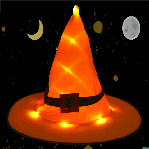 Halloween Decorations Witch Hats Caps String Lights⚡Buy 6 free shipping and get 20% off⚡