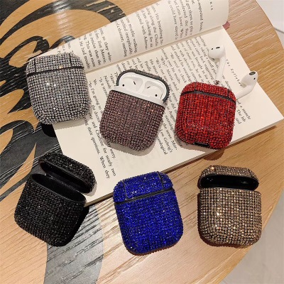 2020 Newest Luxurious Rhinestone AirPods Case Shockproof Protective Premium Crystal Cover Skin