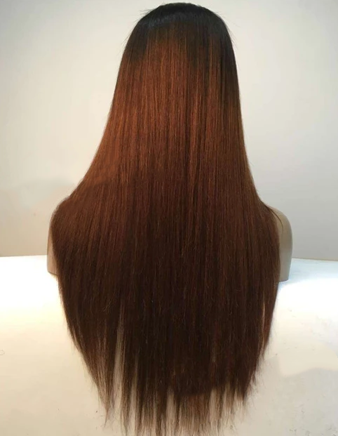 MALAYSIAN OMBRE STRAIGHT FULL LACE WIG