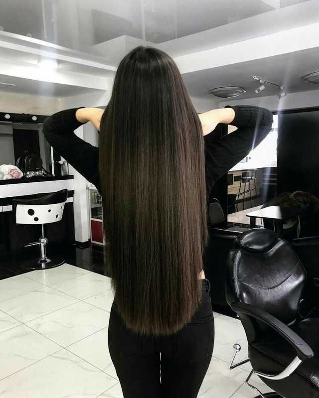 2020 New Straight Wigs Black Long Hair Wigs For 60 Year Old Black Woman Wigs That Look Like Natural Black Hair