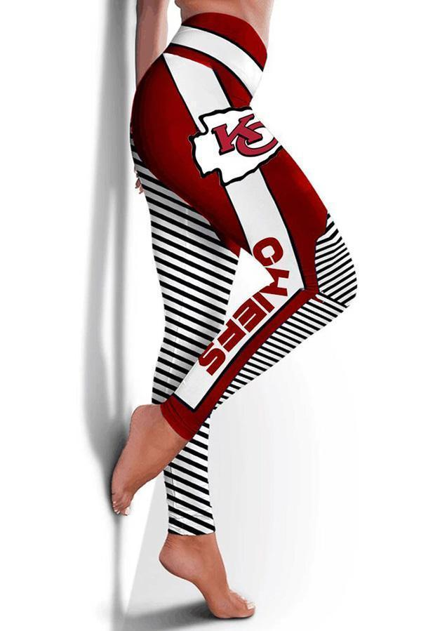 Kansas City Chiefs Limited Edition 3D Printed Leggings