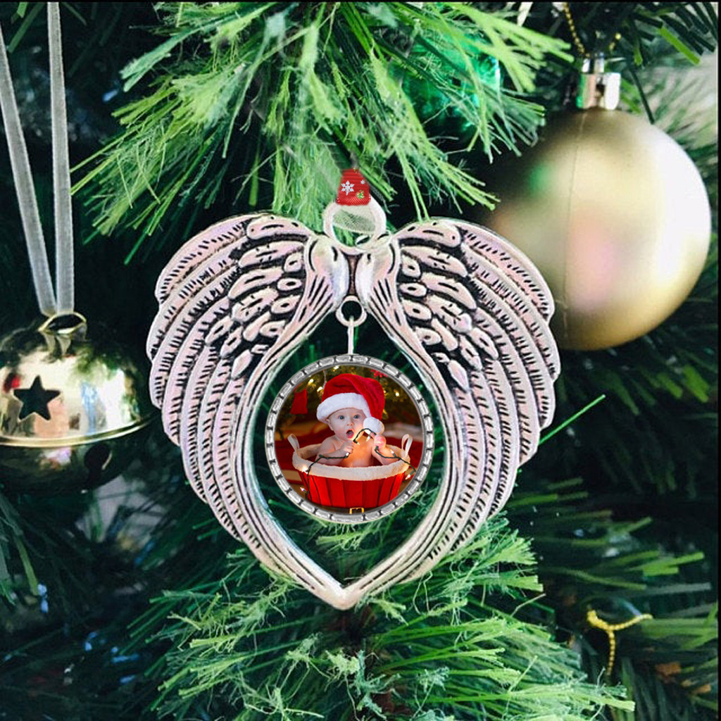 Angel Wings Memorial Ornament👼