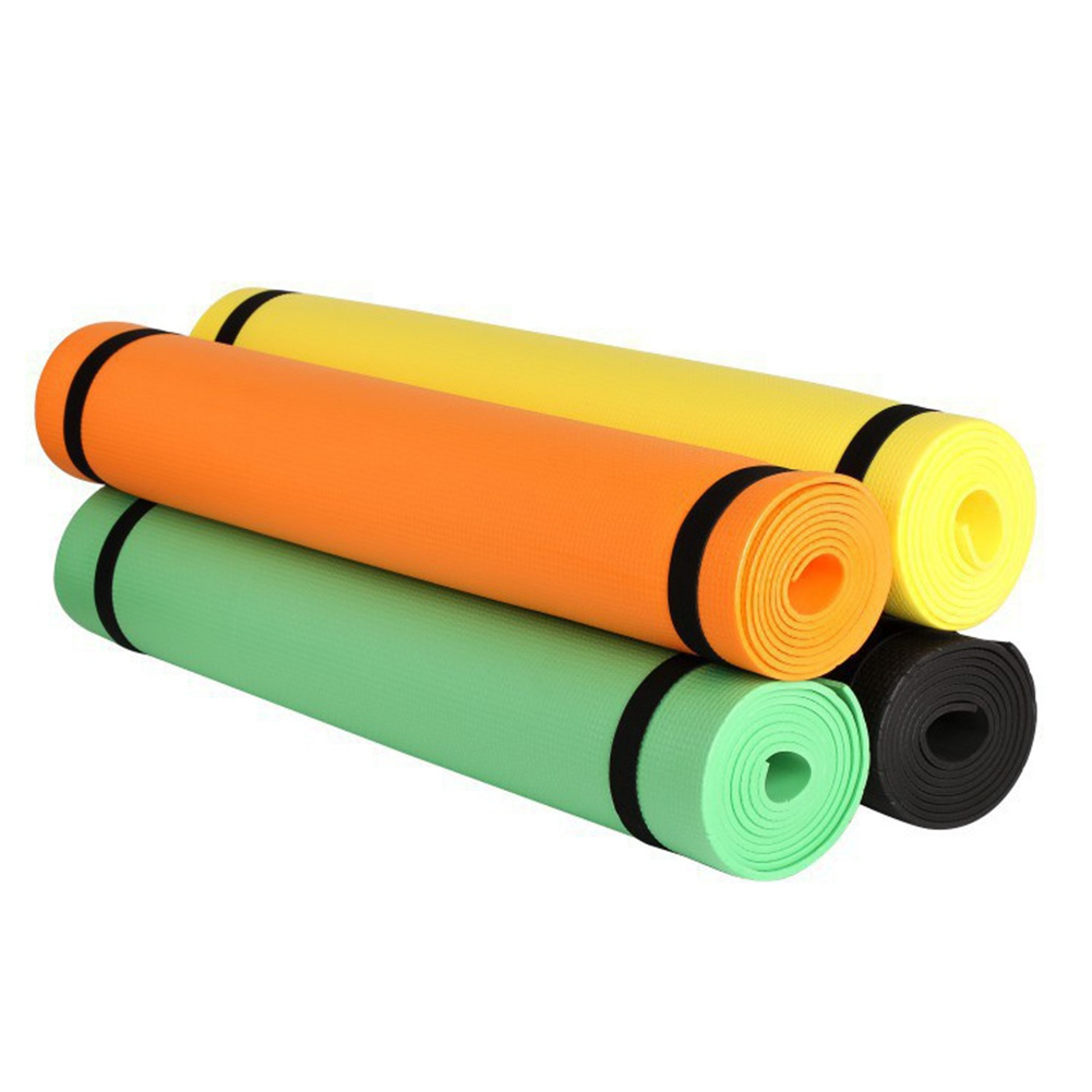 Yoga Mat Body Building Exercise Workout Mat Physio Pilates Camping Fitness Accessories