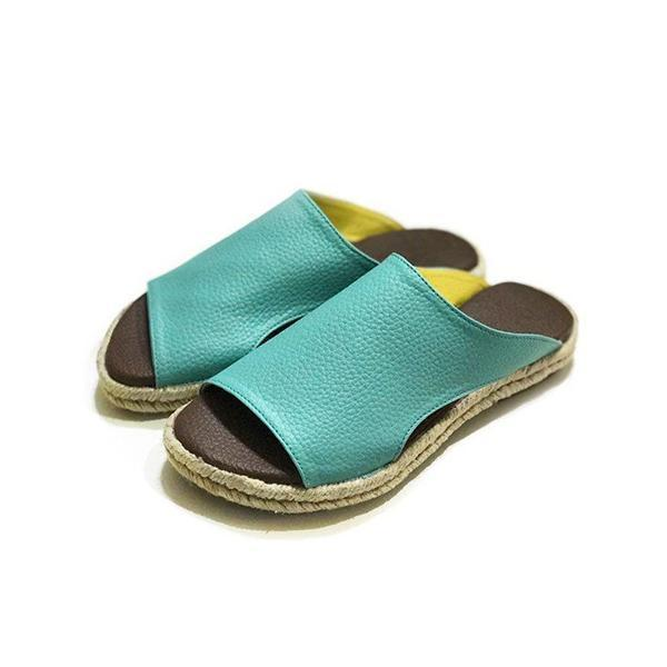 Mokoshoes Summer Casual Comfy Slip On Sandals