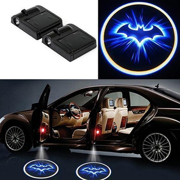 (Limit discounts Only $9.99)Universal Wireless  LED Car Logo Welcome Light (1 PC)