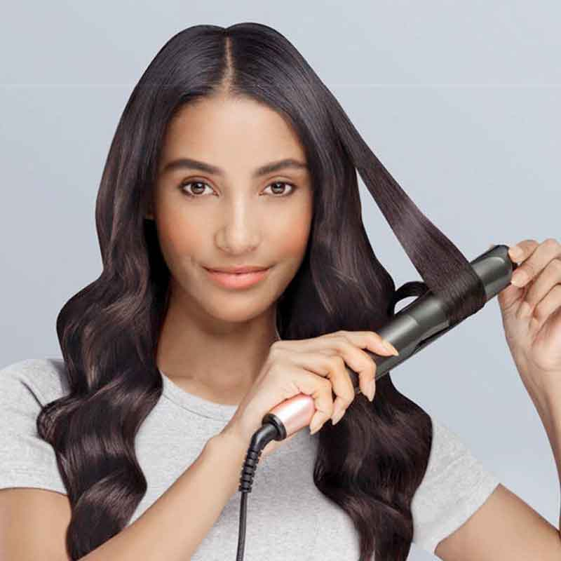 Luna 2 in 1 Hair Straightener & Curler 360 Degree Rotatable