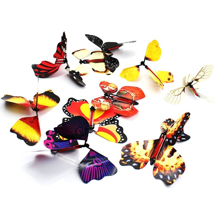 Magic Flying Butterfly Great Surprise Kid's Toy Gift