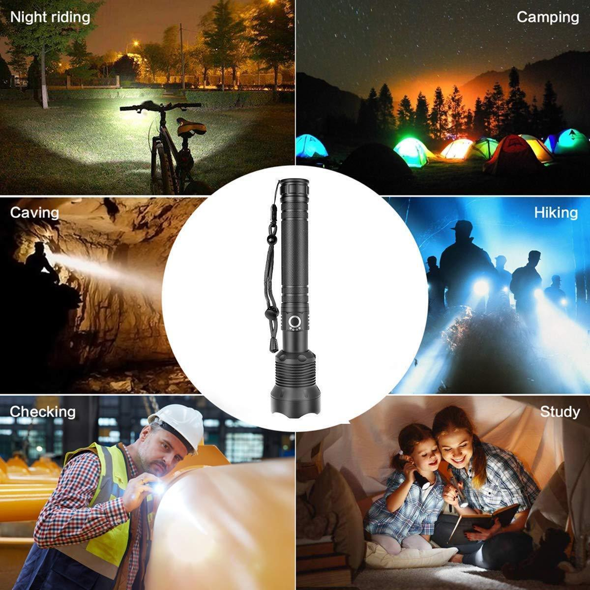2020 NEW YEAR Promotion - XHP P50 MOST POWERFUL FLASHLIGHT