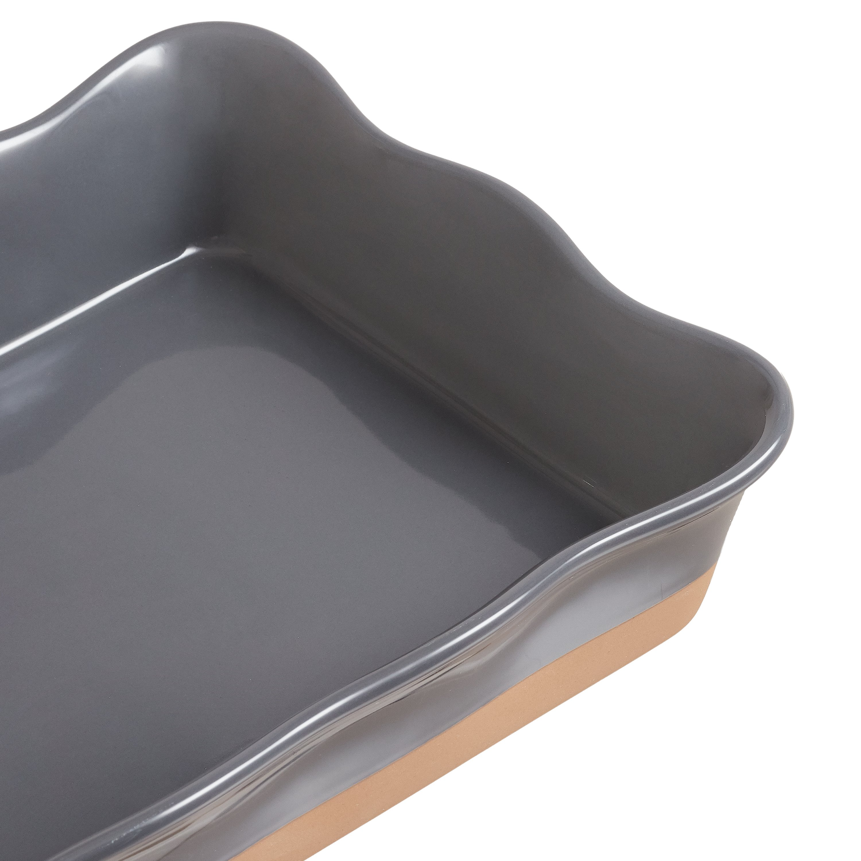 & Gardens Ellie Rectangular Casserole Baking Dish, Set of 3, Multiple Colors-Bakeware Sets 3.24