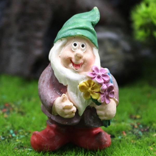 2020 New Funny Garden Gnome Statue Decoration