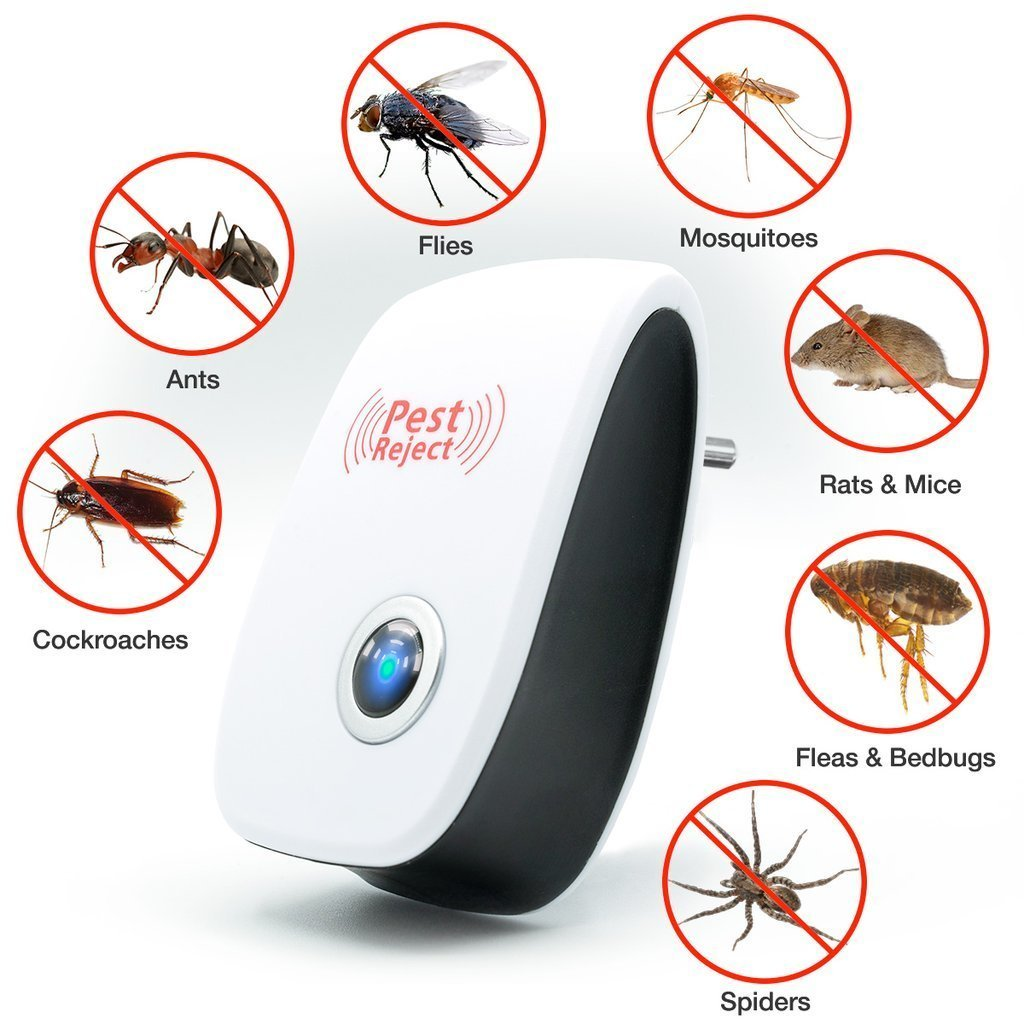 (🔥Only Today 70% OFF!🔥)ULTRASONIC PEST REPELLENT