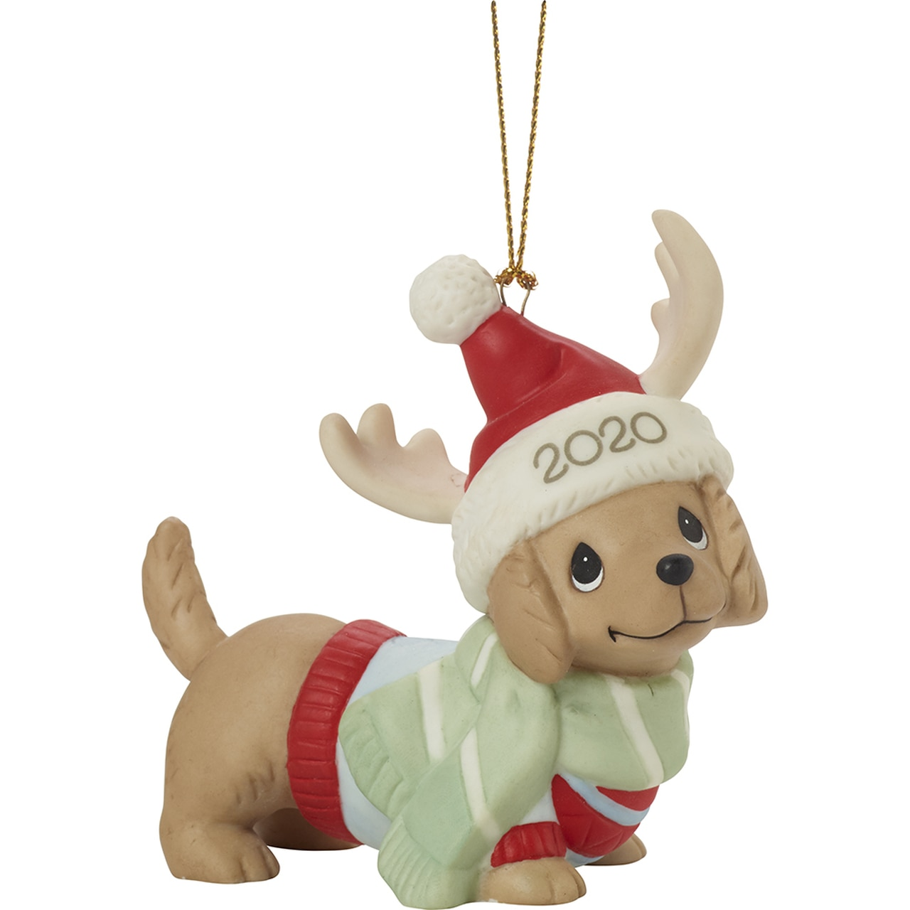 Dated Dog Ornament
