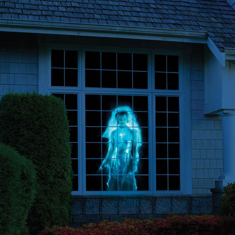 Halloween Holographic Projection!