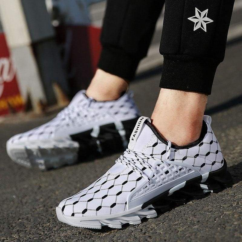 Men's Fashion Blade Sole Lightweight Sports Shoes Casual Seasons Running Shoes