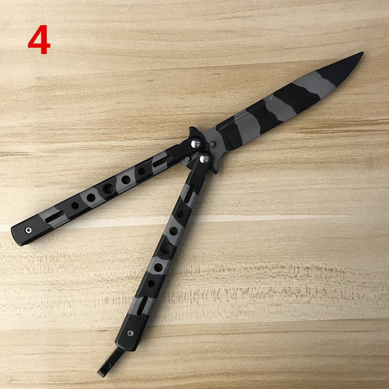 Outdoor Butterfly Knife Stainless Steel  Sword Model Toy Training Tools