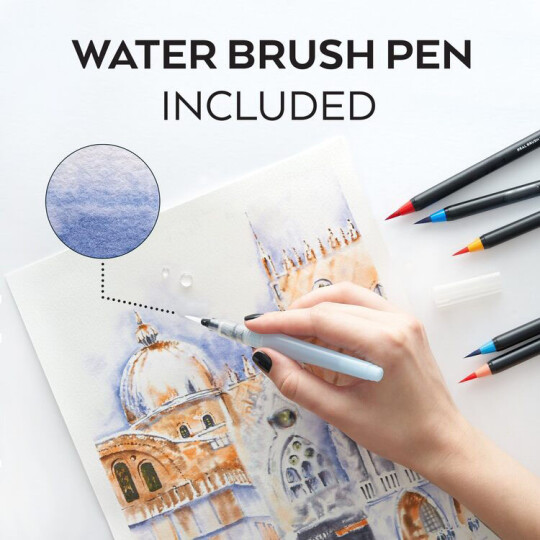 (🎄Early-Christmas Flash Sale🎄-48% OFF) Art Marker Watercolor Brush Pens- BUY 2 Free Shipping Worldwide