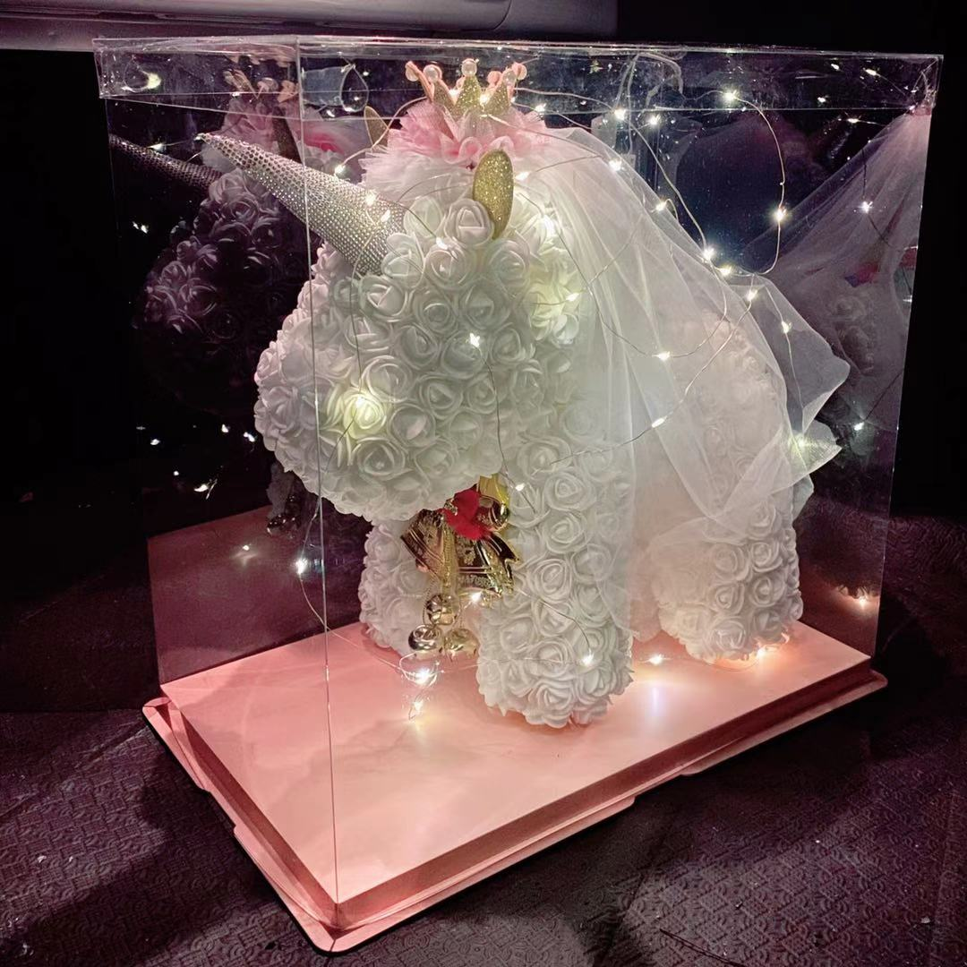 NEW ARRIVAL 2021 - LUXURY ROSE UNICORN GIFT