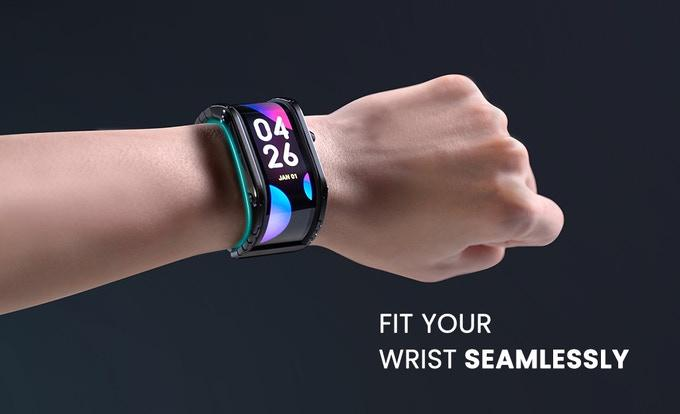 A Futuristic Flexible Display Smartwatch