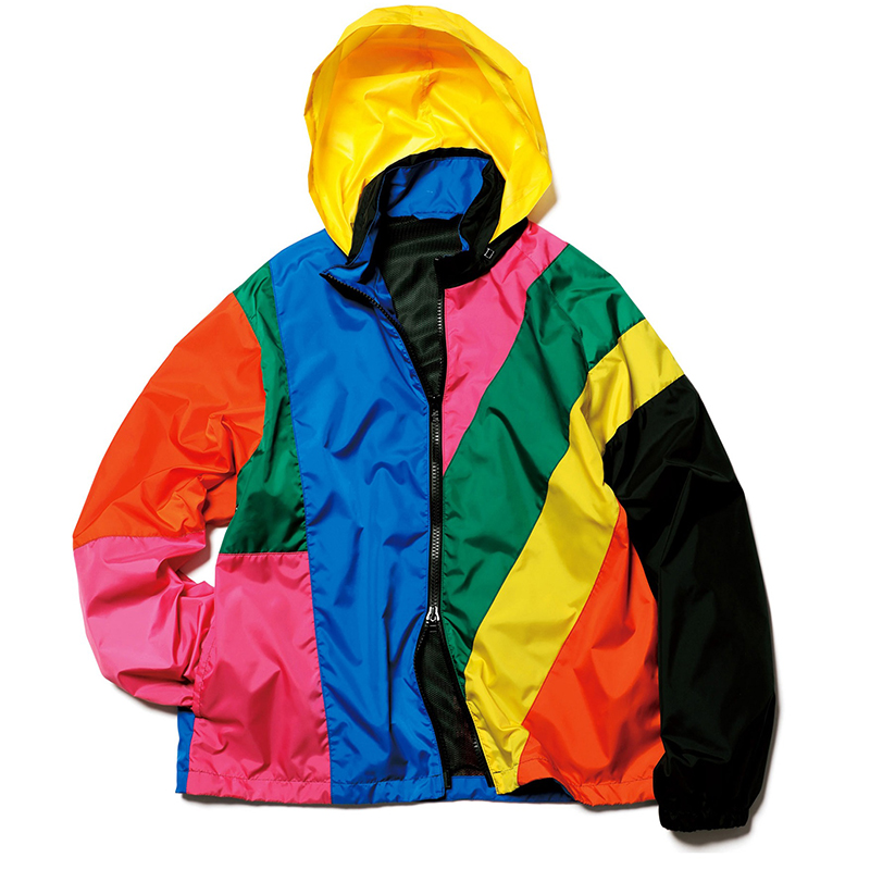 Colorful patchwork jacket