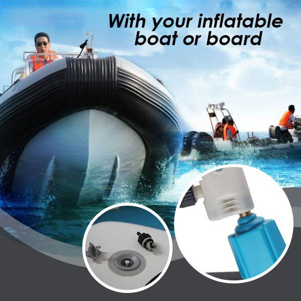 Inflate-A-Boat Valve Adapter