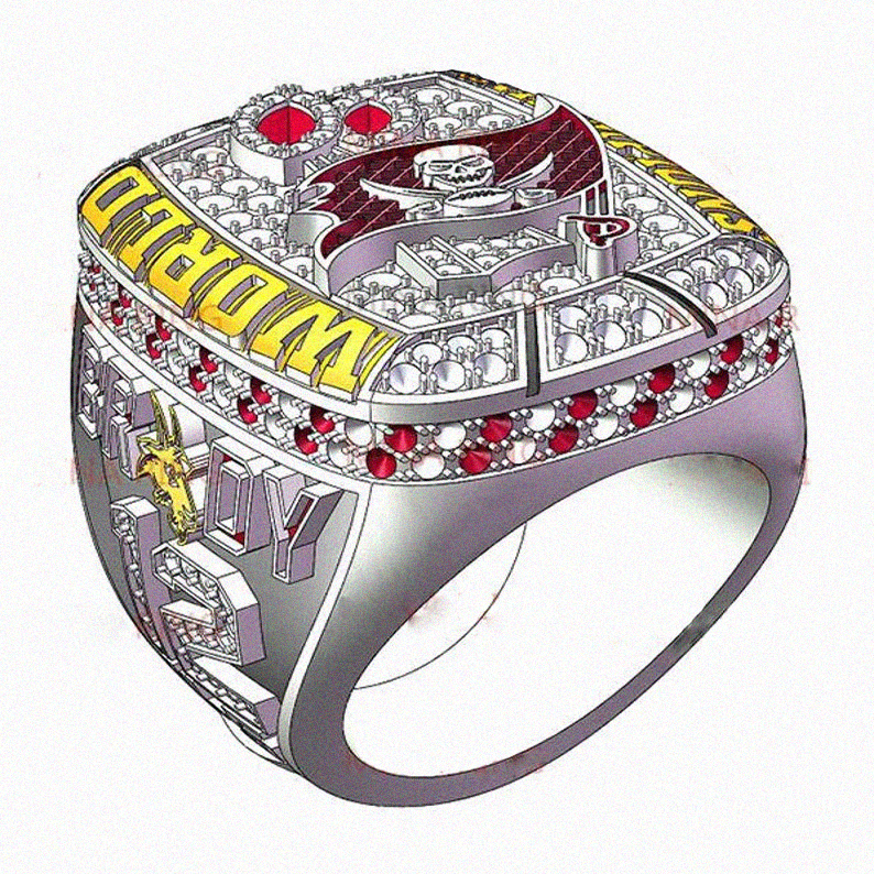 2021 Super Bowl Championship Rings, Tampa Bay Buccaneers Fan