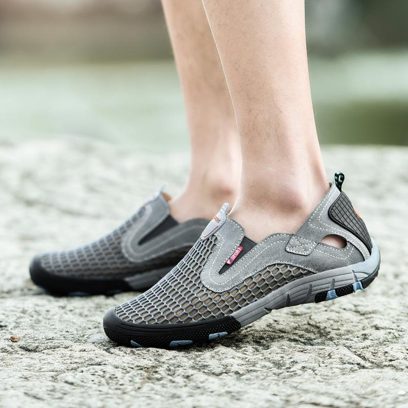 Breathable Mesh Outdoor Leisure Men Sandals