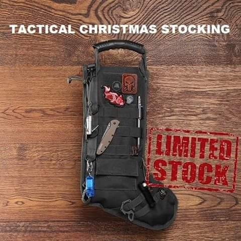 【Buy 2 Get 1 Free】Tactical Christmas Stocking