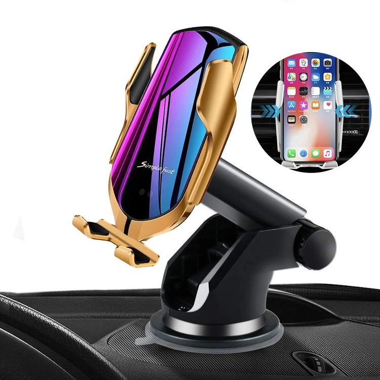 Automatic Clamping Wireless Car Charger that fits ALL SIZE phone!(Buy 2 free shipping)