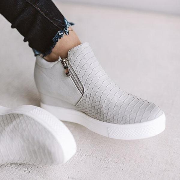 Zoeyootd 2019 Hot Sale Wedge  Sneakers (Ship in 24 Hours)
