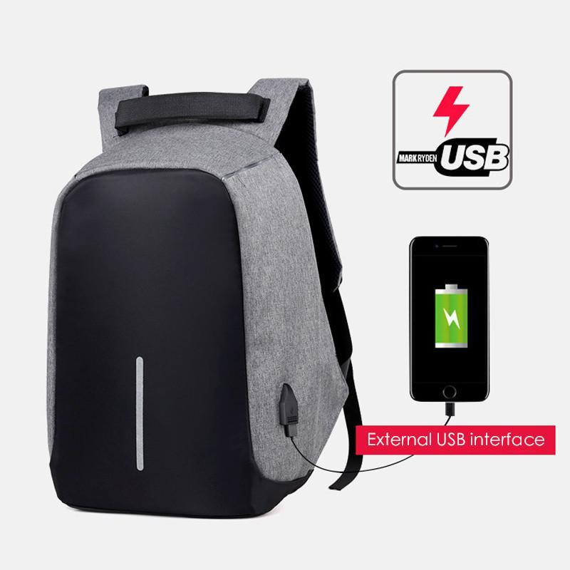 2019 USB Charging Anti Theft Travel Laptop Backpack