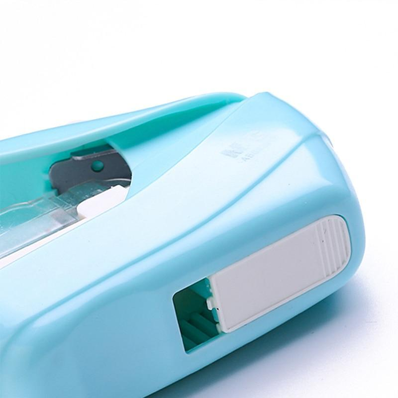 [40% OFF] Stapler Without Staples Eco-Friendly Safe & Neat