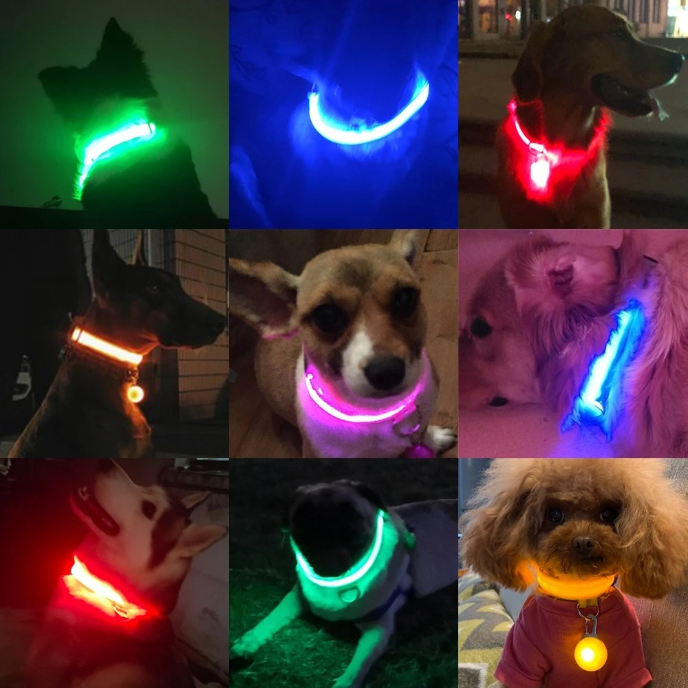🔥LED Pet Safety Collar - Keep Your Pet In Sight At Night
