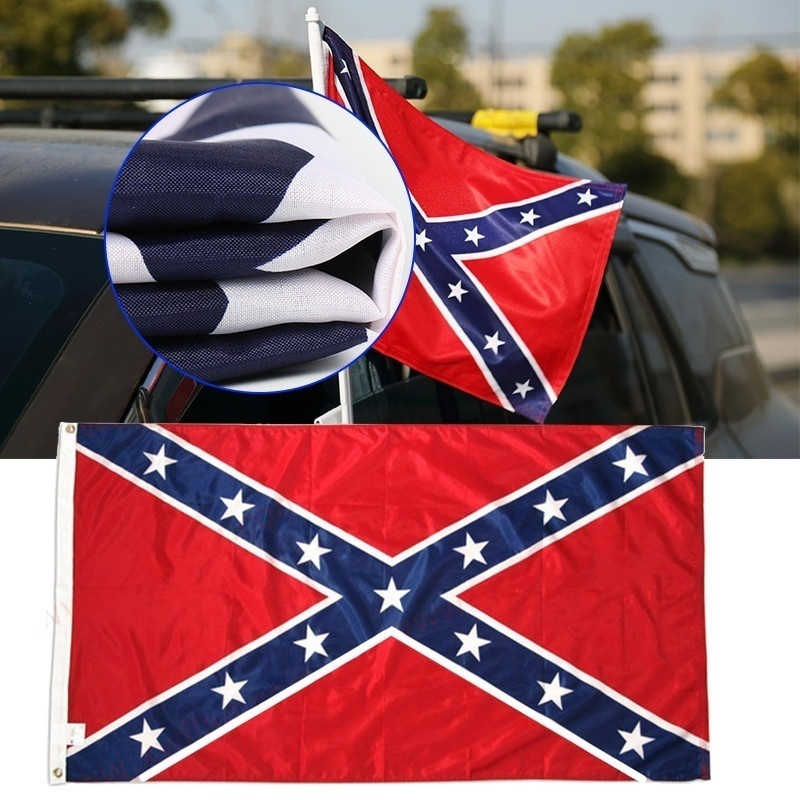 1/2Pcs CSA Old Southern States Flag 3x5 ft Old Georgia State Mississippi dixie flag Polyester Flags Indoor/Outdoor