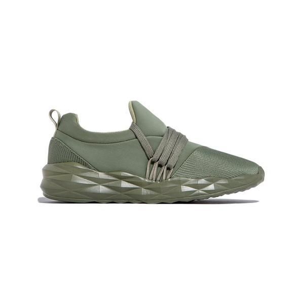 Bonnieshoes Women's Lace-Up Slip-On Lightly Sneakers
