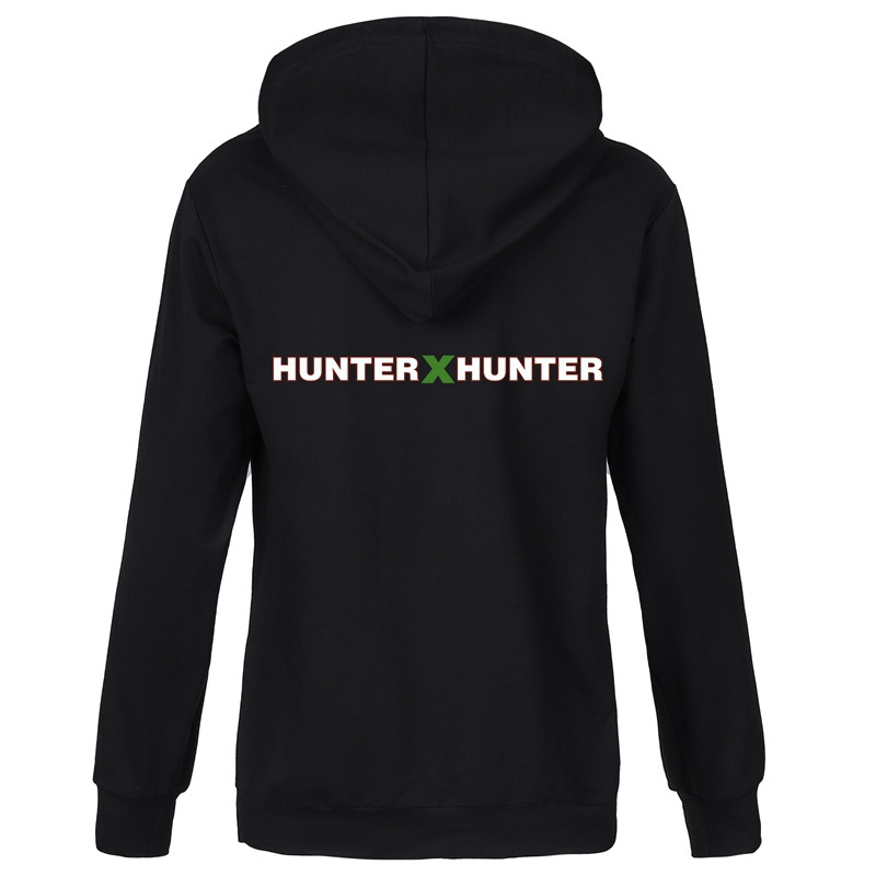 2021 New Anime Hunter X Hunter Unisex Hoodies Funny Hisoka Anime Cosplay Hooded Sweatshirts Loose Long Sleeves Double-sided Printed Pullover Tops Luxury