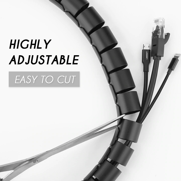 Easy-Wrap Cable Organizer