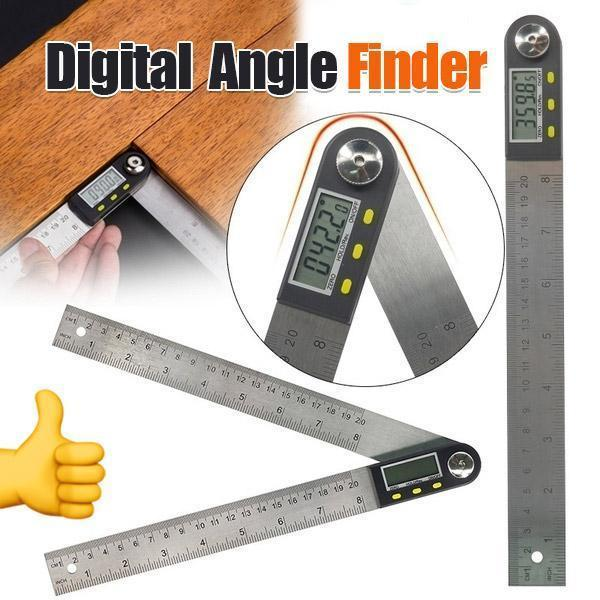 Stainless Steel Digital Angle Finder Protractor Measure Tool