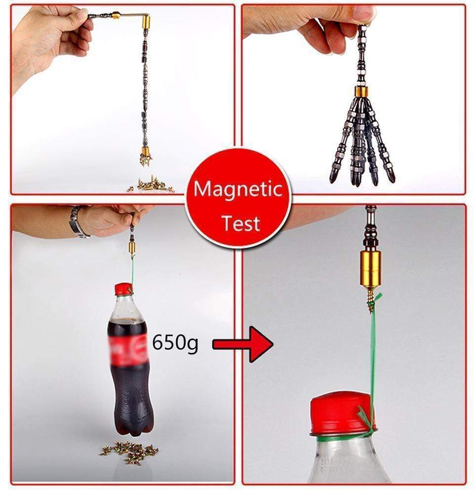 50% OFF-Magnetic Driver Drill Set