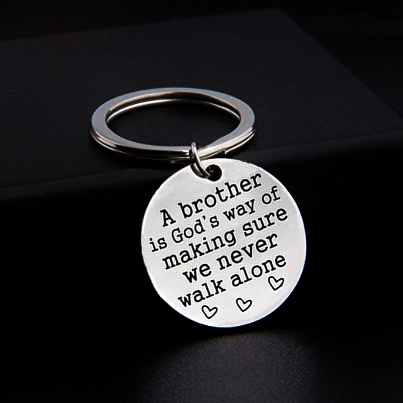Thoughtful Keychain🥰Perfect Gift For Brothers🥰