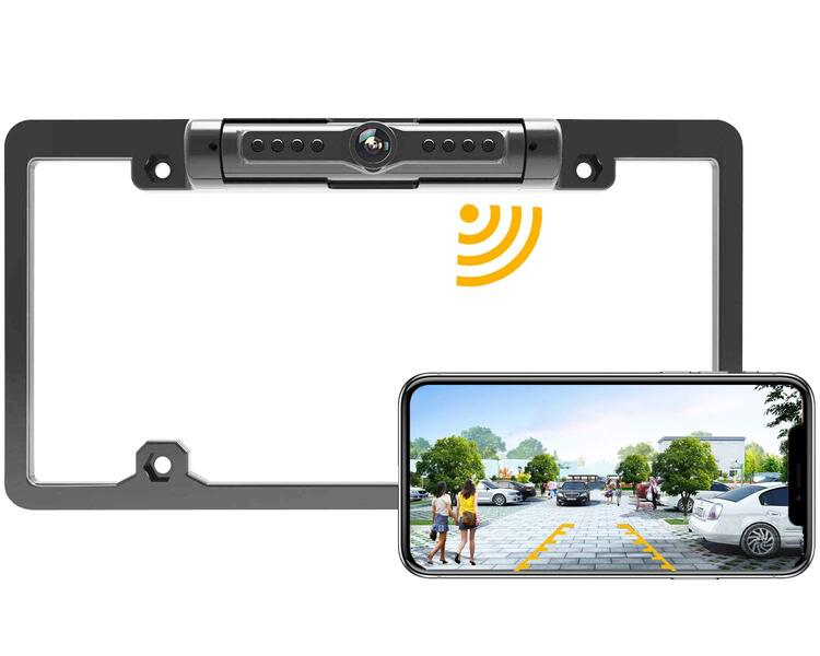 License Plate Wireless Camera - Dedicated to U.S. License Plate