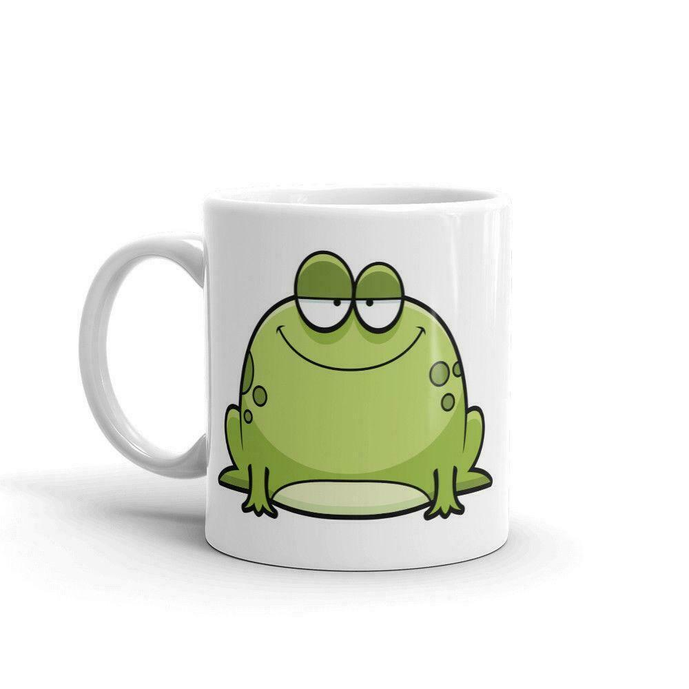 HAPPY GREEN FROG HIGH QUALITY 11OZCOFFEE TEA MUG