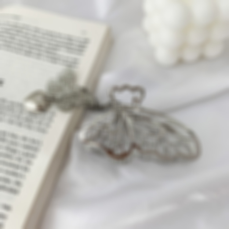 Butterfly Pendant Hair Clip